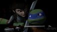 Tmnt 2012 leo and karai by jantuzbaptiste-d5tblv6