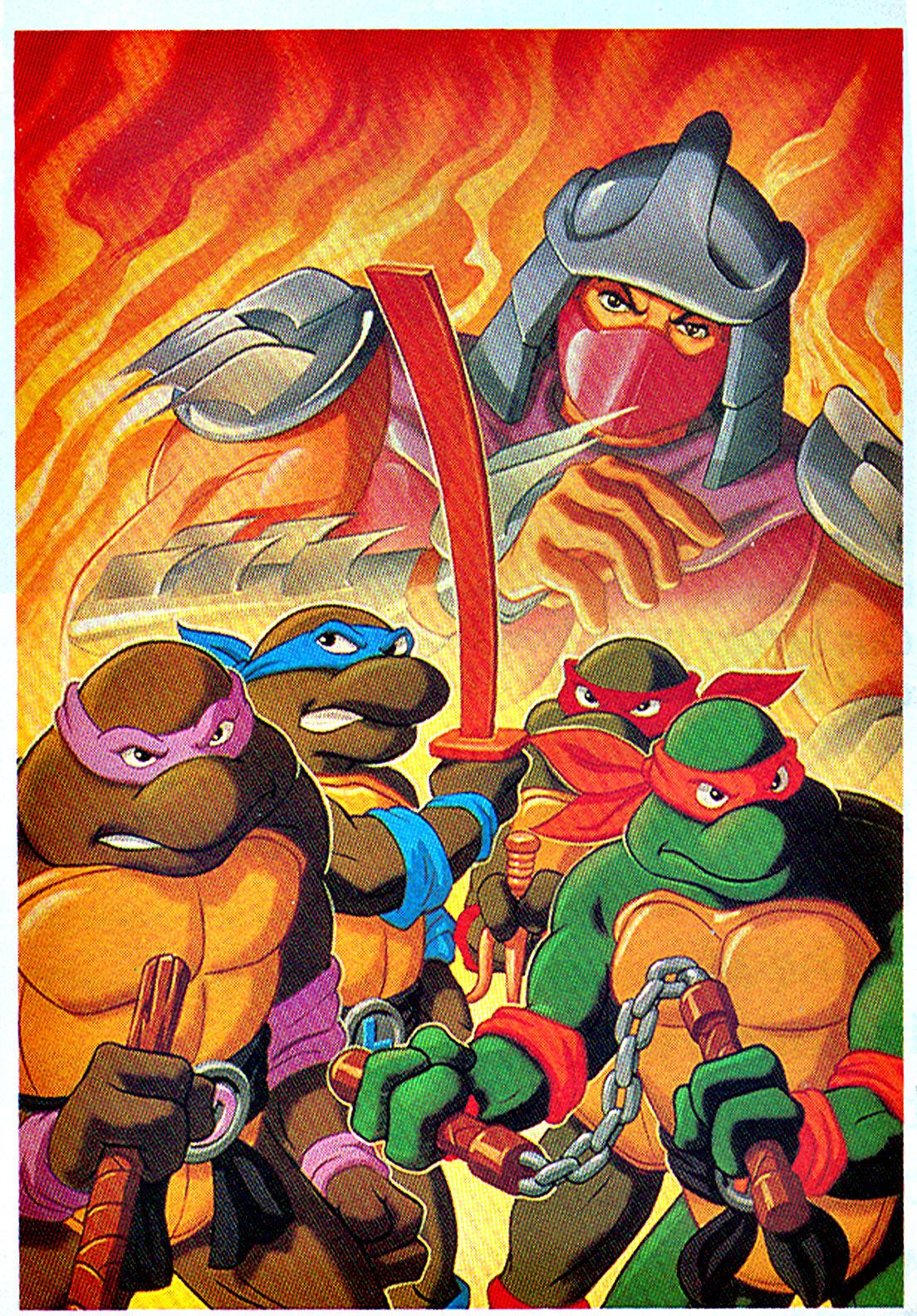 Ninja Turtle Nails: Teenage Mutant Ninja Turtles (1987 TV Series)