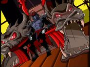 Shredder-throne