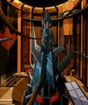 Shredder secret starship