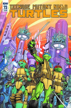 TMNT -73 Regular Cover by Cory Smith