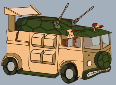 party wagon tmntpedia fandom powered by wikia. Black Bedroom Furniture Sets. Home Design Ideas
