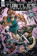 TMNTU -20 Regular Cover by Freddie Williams II