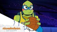 """Air Turtle"" 🏀 Animatic Rise of the TMNT 🐢"