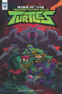 Rise of the tmnt comic alternative cover by lullabystars-dcfzt9d