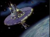 Klaatu's and Barada's spacecraft