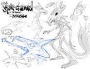 Squirrelanoid sketch
