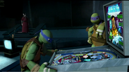 Leo and Donnie gaming