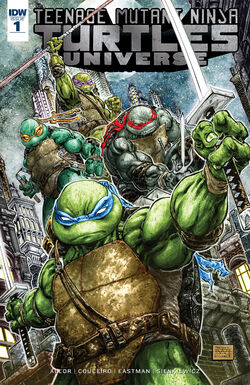 TMNT Universe Issue -1 Cover A