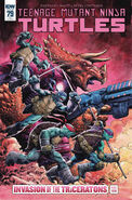 TMNT -79 Retailer Incentive Cover by Dave Wachter