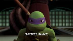 Baxter's Gambit title
