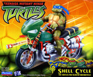 Shellcycle toy