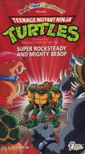 TMNT Super Rocksteady and Mighty Bebop VHS