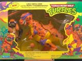 Cave-Turtle Don and his Trippy Tyrannosaurus (1993 action figure)