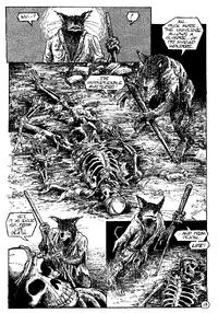 Splinter discovers Rat King's corpse