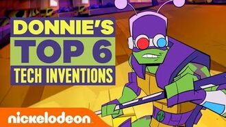 Donnie's Top 6 Tech Inventions 📱💻⌚️ Rise of the TMNT TurtlesTuesdays