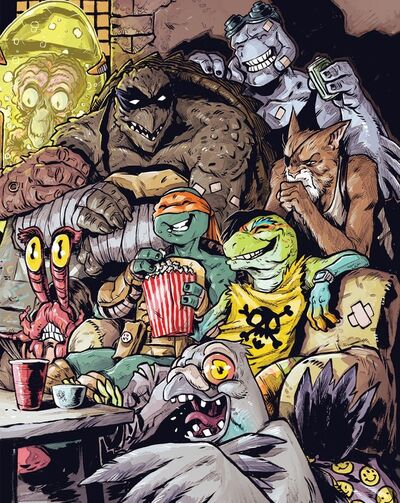 Mighty Mutanimals (IDW)