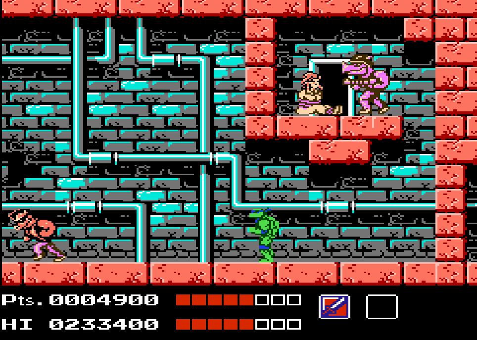 Resultado de imagen para teenage mutant ninja turtles (nes video game)