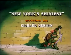 New York´s Shiniest Title Card