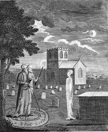 John Dee und Edward Kelley – Totenbeschwörung
