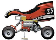Planet Racers - Godman 23 Bike