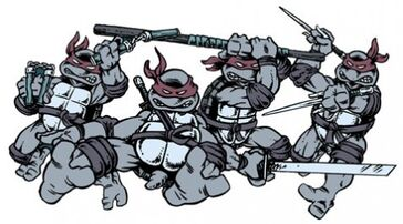 Tmnt weapons