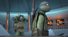 Donnie and Raph Shocked