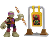 Half-Shell Heroes Dojo Donnie with Training Target (2015 toy)