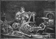 Frankenstein illustration labratory