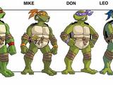 Teenage Mutant Ninja Turtles (2001 TV series pitch)
