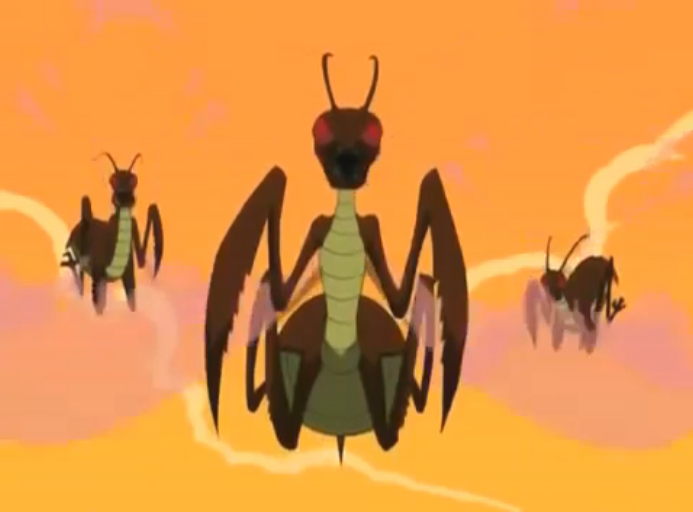 Giant Wasps