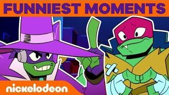 Rise of the TMNT's Funniest Moments from Brand NEW Episodes! FunniestFridayEver
