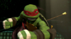 Bow on Raph's Back