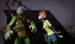 TMNT-2012-Donatello-and-April-0141