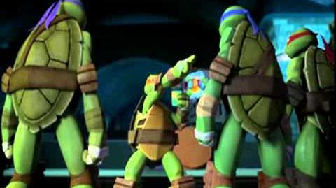 Tmnt season 2 episode 5 Mikey gets shellacne