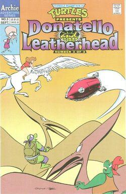 Donatello & Leatherhead issue 3