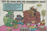 Conservation lunch