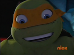 Mikey smiling