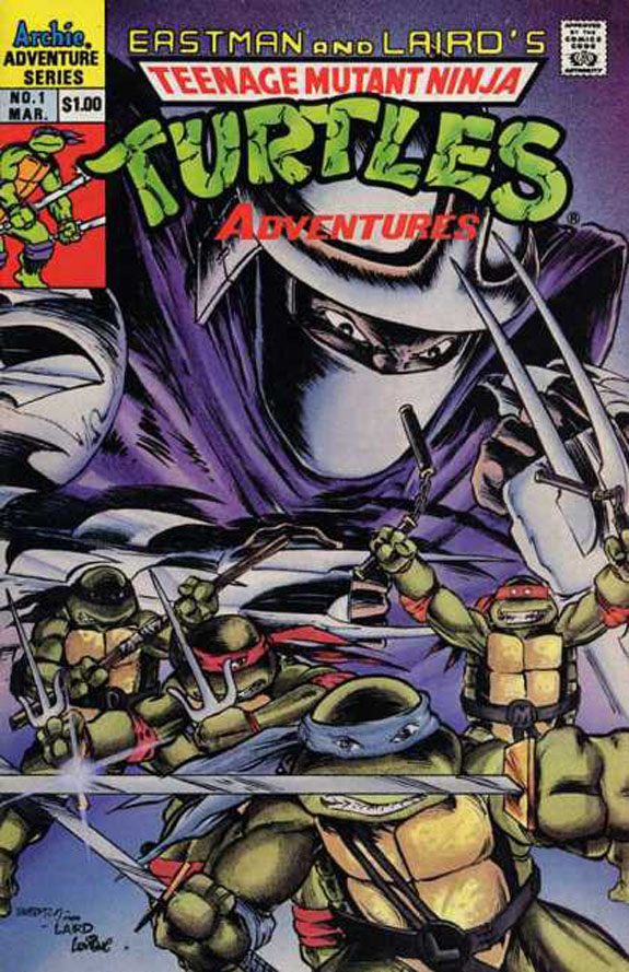 Teenage Mutant Ninja Turtles Giant Size Special Comic #7 Archie 1993 VERY FINE+