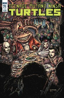 TMNT -71 Subscription Cover by Kevin Eastman