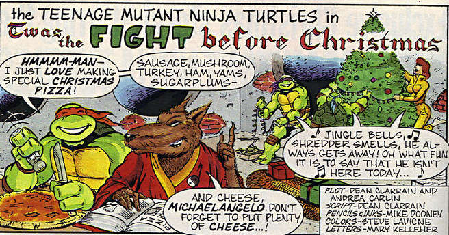Twas The Fight Before Christmas.Twas The Fight Before Christmas Tmntpedia Fandom Powered