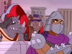 Shredder Bebop Rocksteady Starmobile
