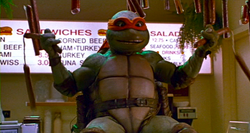TMNT 2 SECRET OF THE OOZE COMBAT COLDCUTS