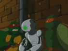 Raphael and Michelangelo with Fugitoid (Season 3)