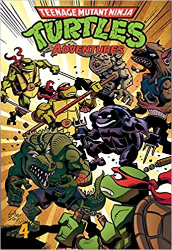 Teenage Mutant Ninja Turtles Adventures Volume 4 Is A Trade Paperback Released By IDW Publishing On April 2 2013