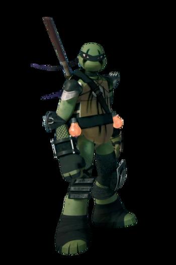 Super-ninja-donatello