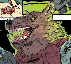 Idw - fist mutant