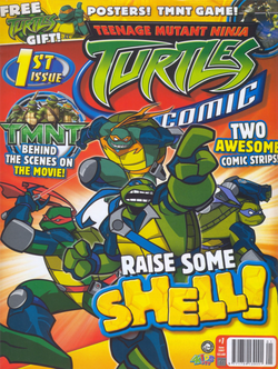 Tmntcomic issue1