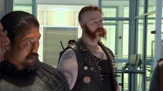 "Sheamus takes you onto the set of ""Teenage Mutant Ninja Turtles"""