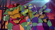 Raph, Leo, and Donnie
